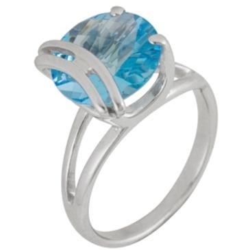 кольцо c топазом из серебра 3077001410 от EVORA