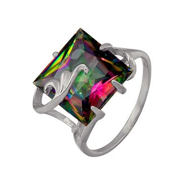 кольцо c топазом из серебра 3077002291-1 от EVORA