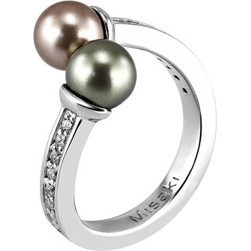 Кольцо Misaki из серебра QCRRCARPEDIEM