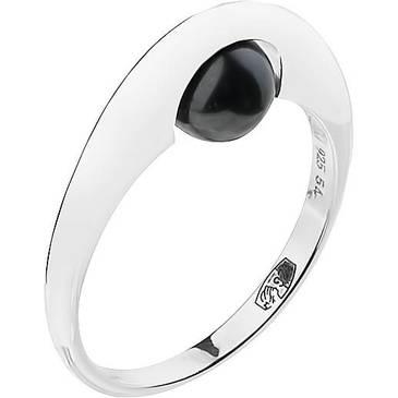 Кольцо Misaki с жемчугом из серебра qcrrcosmic