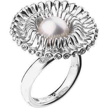 Кольцо Misaki с жемчугом из серебра qcrrfloralis