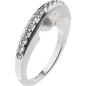 Кольцо Misaki с жемчугом из серебра QCURCOSMOS