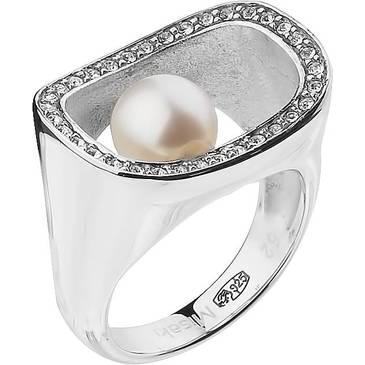 Кольцо Misaki с жемчугом из серебра QCURDIVINE