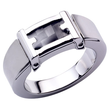 Модель: ROCHET А5331 Кольцо Серия: Mercury Материал: сталь/карбон.