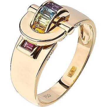 Кольцо Guy Laroche из желтого золота TG040JV