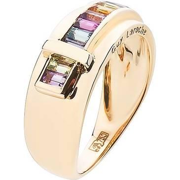 Кольцо Guy Laroche из желтого золота TA015JV