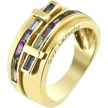 Кольцо Guy Laroche из желтого золота TC016JV