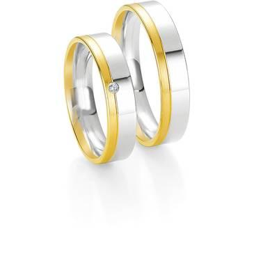 Кольцо Breuning из желтого золота 48/04064