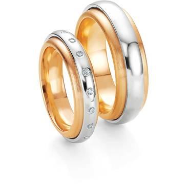 Кольцо Breuning из желтого золота 48/05080