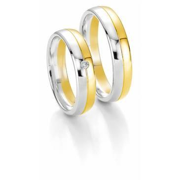 Кольцо Breuning из желтого золота 48/04050
