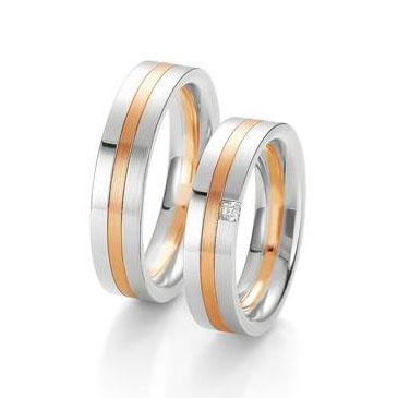 Кольцо Breuning из желтого золота 48/04006