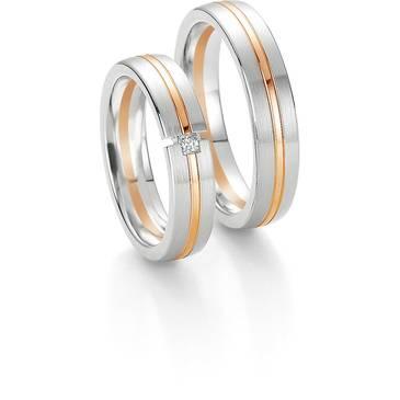 Кольцо Breuning из желтого золота 48/04162