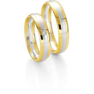 Кольцо Breuning из желтого золота 48/04046