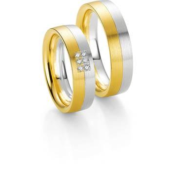 Кольцо Breuning из желтого золота 48/03551