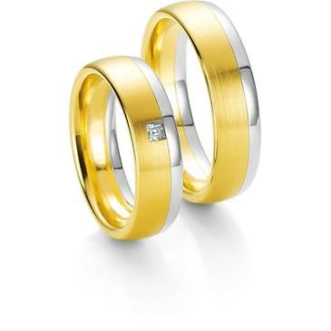 Кольцо Breuning из желтого золота 48/03421