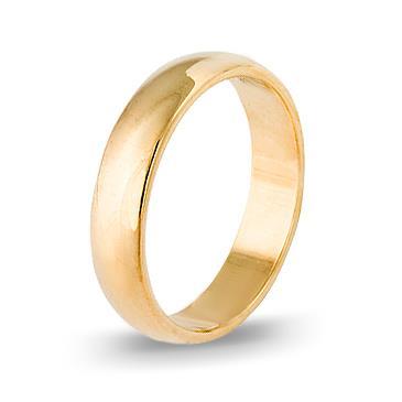 кольцо обручальное из желтого золота 1403008033