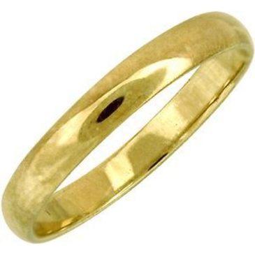кольцо обручальное из желтого золота 18000029/11