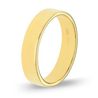 кольцо обручальное из желтого золота 17003793