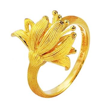 Кольцо 'PRIMA GOLD 111R' из желтого золота,артикул...