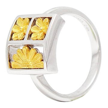 Кольцо 'PRIMA GOLD 112R' из желтого золота,артикул...