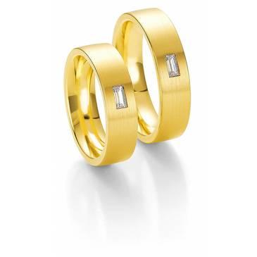 Кольцо Breuning из желтого золота 48/03110
