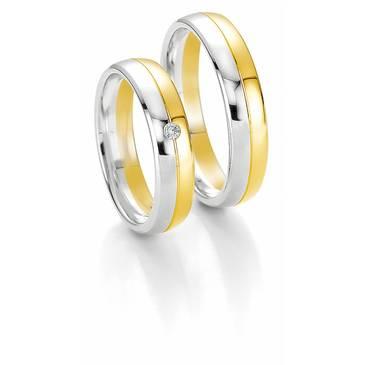 Кольцо Breuning из желтого золота 48/04049