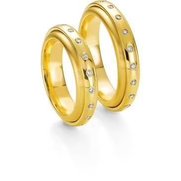 Кольцо Breuning из желтого золота 48/05087/41