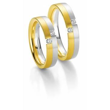 Кольцо Breuning из желтого золота 48/03520