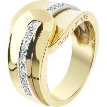 Кольцо Guy Laroche из желтого золота TC001XB3