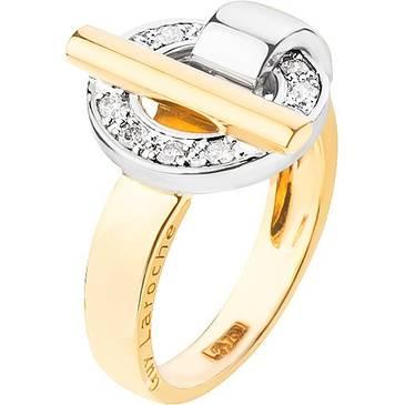Кольцо Guy Laroche из желтого золота TZ008XB3