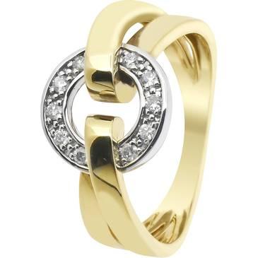 Кольцо Guy Laroche из желтого золота TY005XB3
