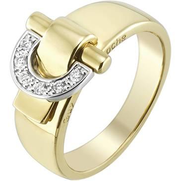 Кольцо Guy Laroche из желтого золота TG041XB3
