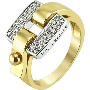 Кольцо Guy Laroche из желтого золота TA041TB3