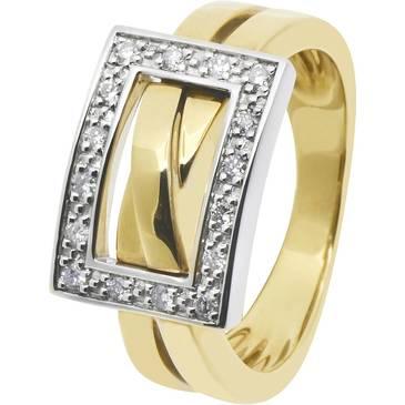 Кольцо Guy Laroche из желтого золота TA032XB3
