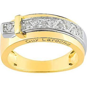 Кольцо Guy Laroche из желтого золота TA011XB3