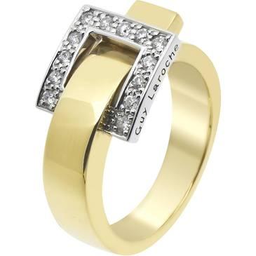 Кольцо Guy Laroche из желтого золота TC010XB3