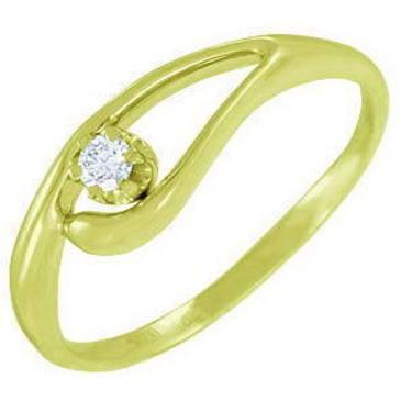 кольцо из желтого золота 14032850