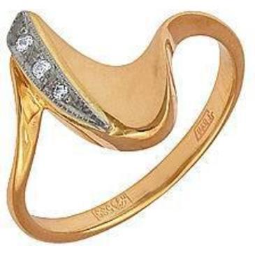 кольцо из желтого золота 1202223