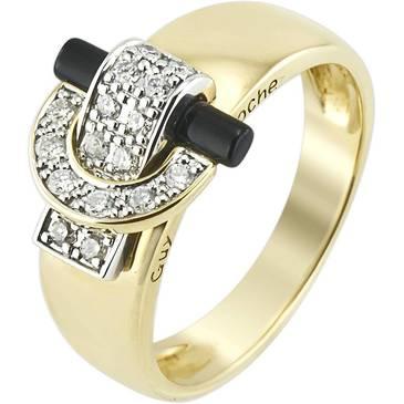 Кольцо Guy Laroche из желтого золота TG043XDBN