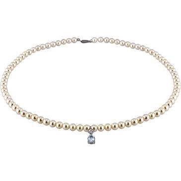 Ожерелье Comete из белого золота FWQ 132
