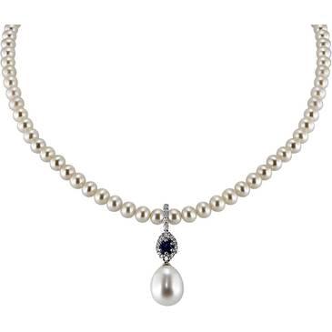 Ожерелье Comete из белого золота FWQ 141