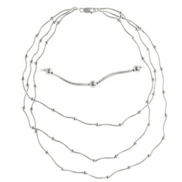 Колье из серебра ka275