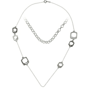 колье из серебра fajcl1748
