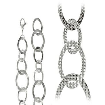 колье из серебра art4030001