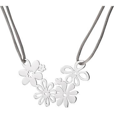 Ожерелье на шнурке Cacharel из серебра CAC07942