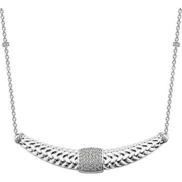 Ожерелье Ti Sento из серебра 3838ZI 42