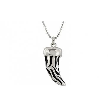 Колье каучук с серебром из серебра 99403