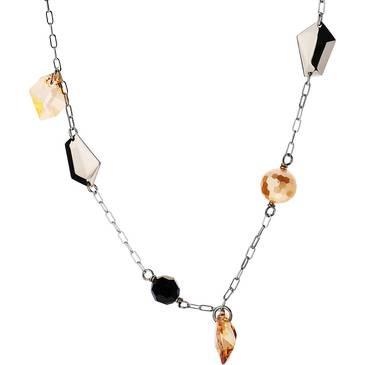 Ожерелье Misaki из серебра QCRNKRYPTO