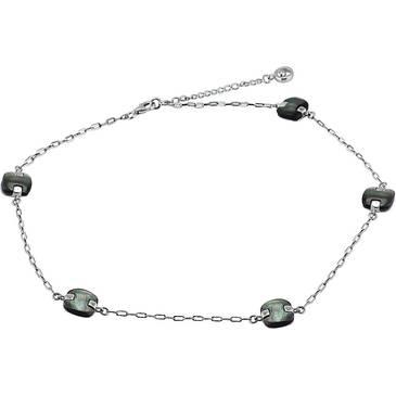 Ожерелье Misaki с перламутром из серебра QCUNAMIDALA