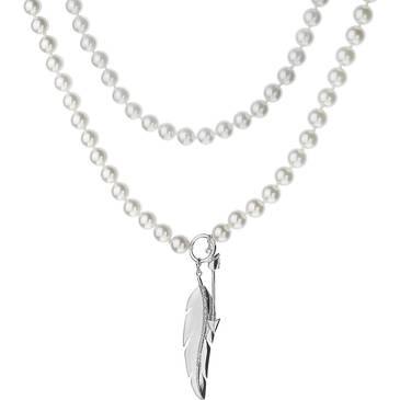 Ожерелье Misaki из серебра QCRNARALONG